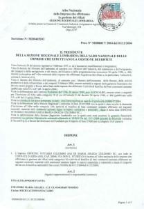 certificazioni smaltimento amianto